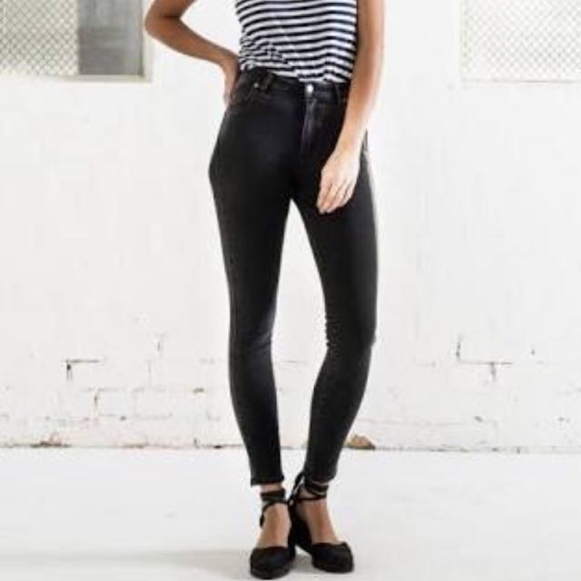 rollas high rise skinny jeans sz 14