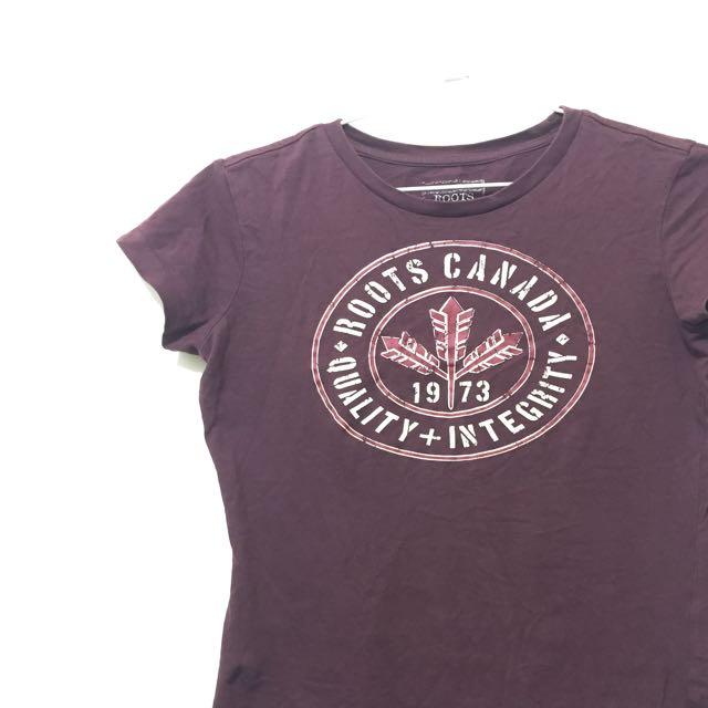 Root 短袖T恤
