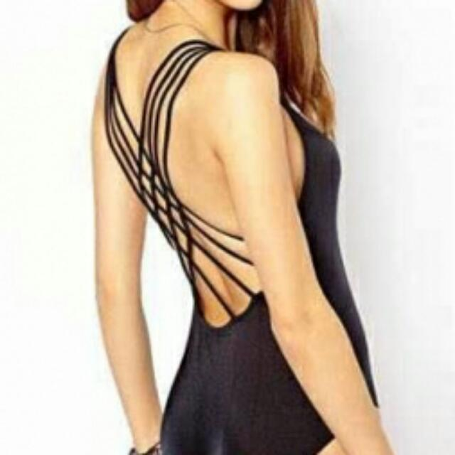 Sexy Strappy Back Swimsuit
