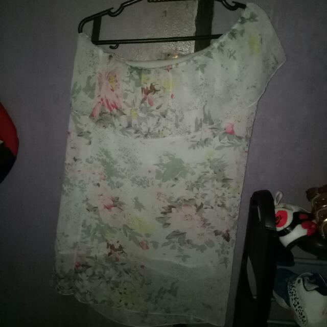 Sexy White Floral Dress