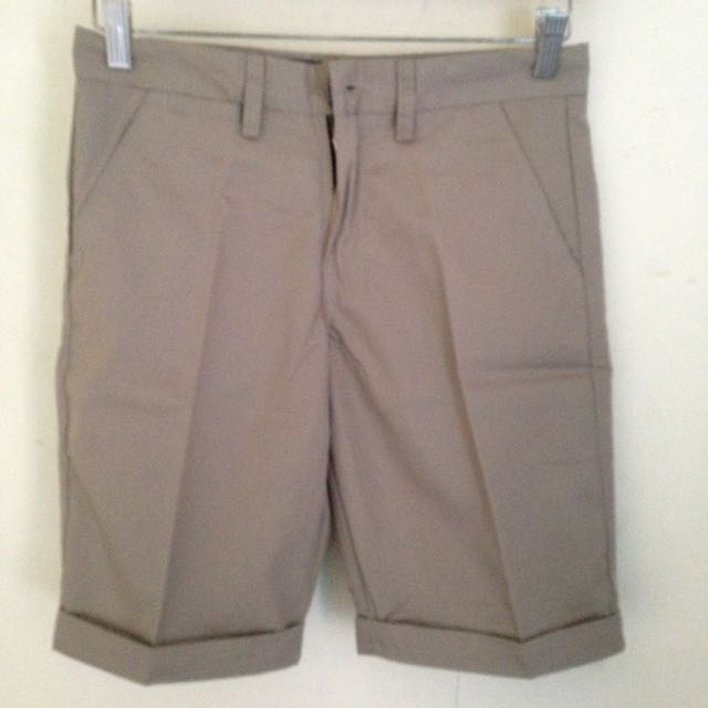 Shortpant Chinos Dark Brown