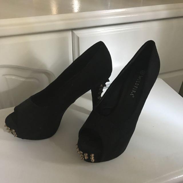 Size 8 Studded Heels