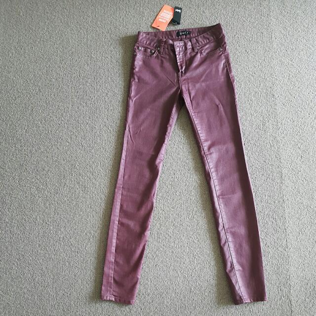 Sportsgirl Burgundy Denim