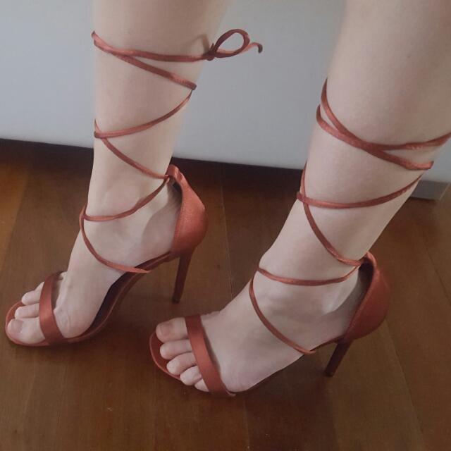 Strapped Heels.