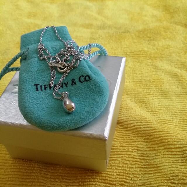 TIFFANY & Co 水滴型項鍊(正品)