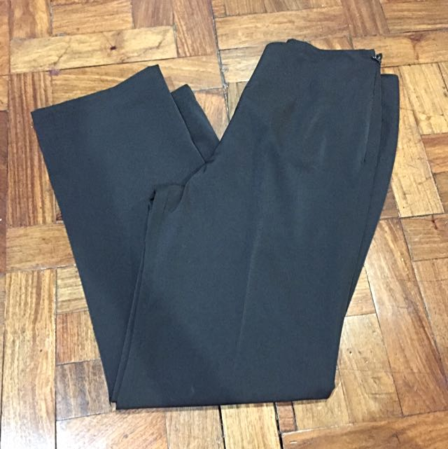 tailored slacks