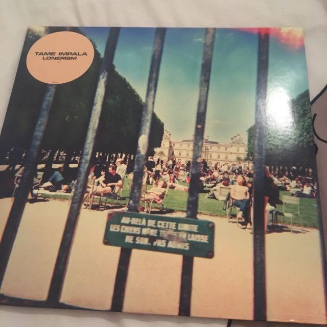 tame impala lonerism vinyl!!