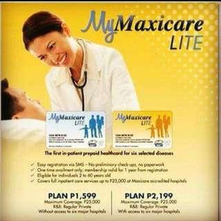 Maxicare Lite Health Prepaid Card