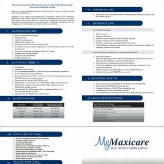 My Maxicare Comprehensive Health Card Plan