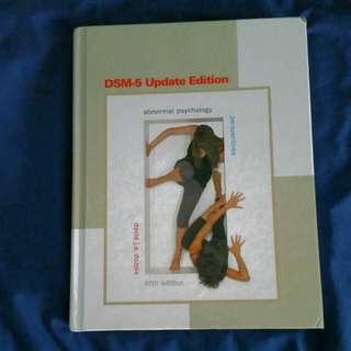Abnormal Psychology DSM-5 Update Fifth Edition, David J.A. Dozois