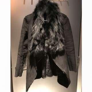Korean Faux Fur Jacket