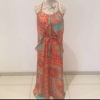 Cinch/ Tattoo Maxi Dress