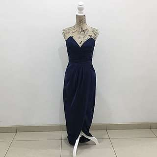 Sheike Navy Maxi Dress