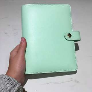 Beautiful Mint Green Planner