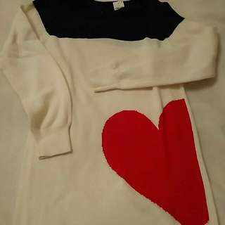 Gap Kids Sweater With Heart