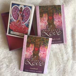 Healing Oracle Cards - Universal Love