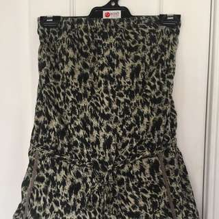 Zimmerman Animal Print Playsuit