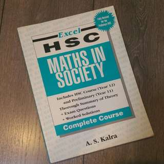 HSC Excel - Maths In Society