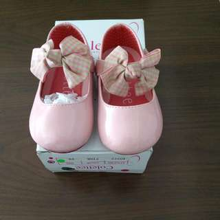Girls' Pink Patent Shoes - Colettee