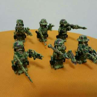 Brand New - Special Forces (Naval Seal Team Of 6)