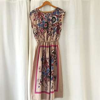 Vintage Hand Made Dress Absolutely Beautiful