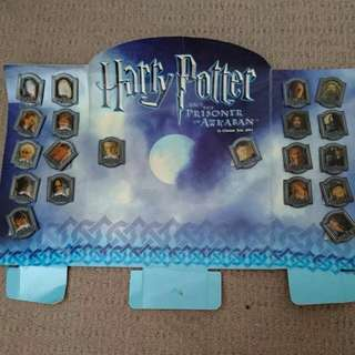 Harry Potter Prisoner Of Azkaban Collectible Pin Set