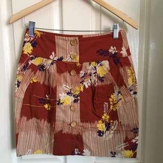 Sportsgirl Skirt Size 8