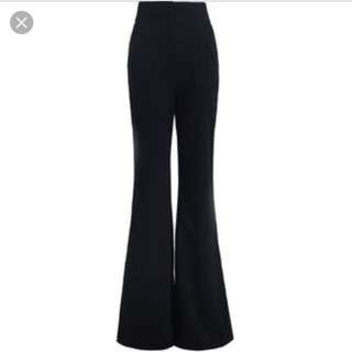 Zimmermann High Waisted Pant Black Size 6