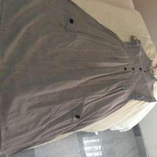 Forever 21 Stripe Dress Size M