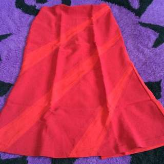 Rok Skirt Red Hot