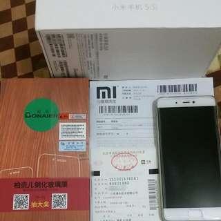「售」12/12自購小米5s 4G+128G頂級尊享版(啞光金)