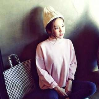 Autumn Fashion Style Pullover (Pink)
