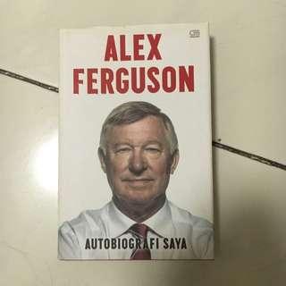Hard Copy, Original Alex Ferguson Autobiography (bahasa Indonesia)