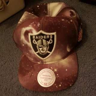 Mitchell And Ness Raiders Galaxy Hat