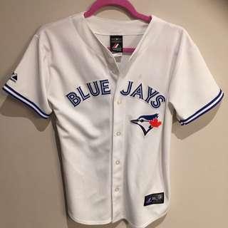 White Blue Jays Jersey