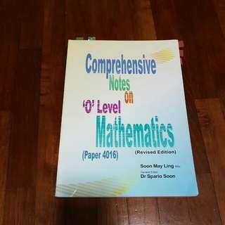 Comprehensive Notes On O Level Mathematics