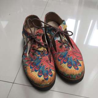 Chiels Peacock Shoes