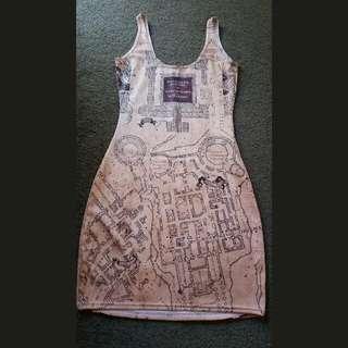 Black Milk - (S) Harry Potter Bodycon Dress