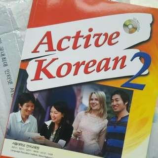 (韓國直購) Active Korean 1, 2, 3, 4 (附CD)