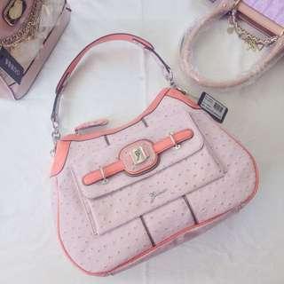 Blush Pink Guess Handbag