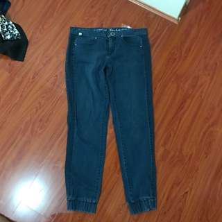 Armani Exchange Cuffed Jeans