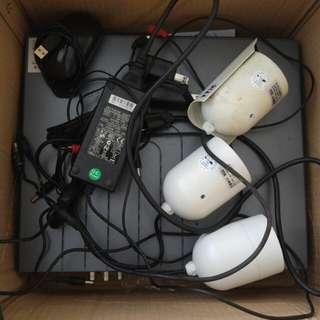 TTIC 監視器主機加鏡頭*3
