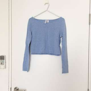 H&M Cropped Long Sleeve Women's M