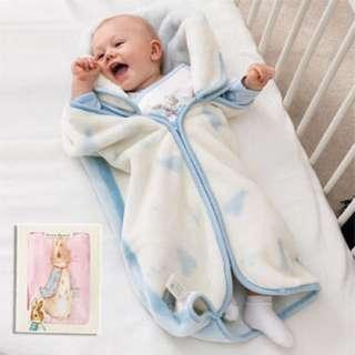 彼得兔嬰兒防踢袖毯 Peter Rabbit