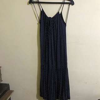 Mango Spaghetti Strap Dress