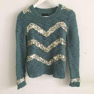 Preloved Topshop Knit Pullover