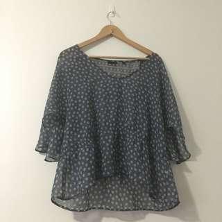 Size 14 Tokito Bat Wing Shirt