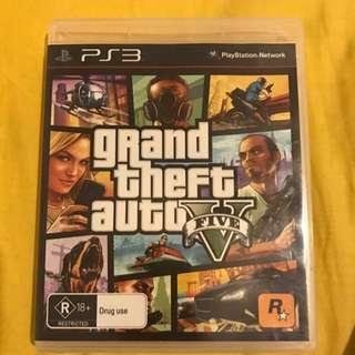 PS3 Grand Theft Auto V Five