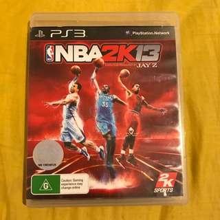 PS3 NBA 2K 13