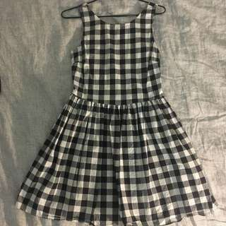 Luck & Trouble Gingham Dress